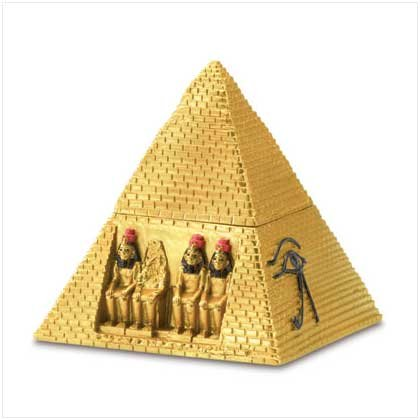 small pyramid Trinket Box