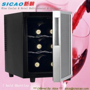 SICAO- wine cooler,home cellar,display showcase,mini bar JC-16A