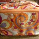 Clinique Orange Cosmetics Bag