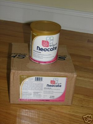 Case of Neocate Infant Formula