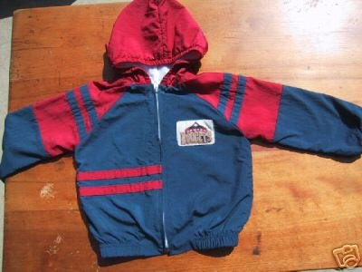 DENVER NUGGETS toddler 4T hooded JACKET babyfair