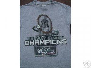 NY YANKEES World Series 2000 Champs YOUTH 10-12 T-SHIRT