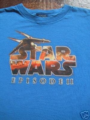 STAR WARS Episode II - YOUTH size L(10-12) T-SHIRT