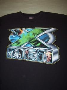 X-MEN T-SHIRT youth size M(10-12) marvel comics