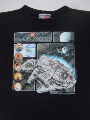 STAR WARS - lego collection - YOUTH size 5-6 T-SHIRT