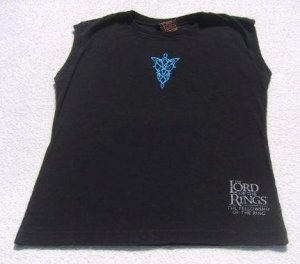 The LORD of the RINGS - YOUTH size 8 sleeveless T-SHIRT