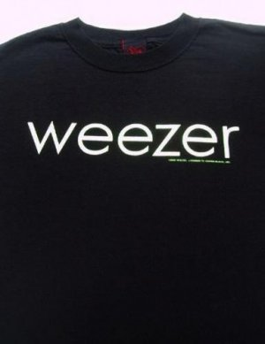WEEZER - cinder block - YOUTH size L(12-14) T-SHIRT