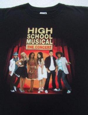 HIGH SCHOOL MUSICAL concert tour YOUTH M(8-10) T-SHIRT