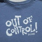 Paul Frank OUT OF CONTROL girl's L(10-12) TOP TEE SHIRT