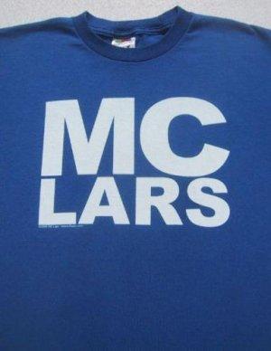 MC LARS post-punk laptop rap YOUTH size 14-16 T-SHIRT