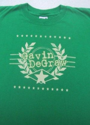GAVIN DeGRAW --- Youth size L(10) T-SHIRT
