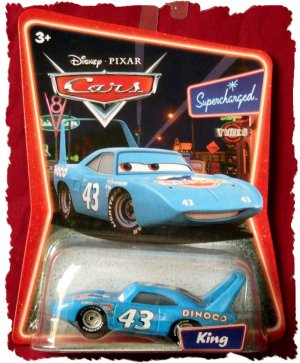 Disney Pixar Cars 'The King' Strip Weathers Supercharged
