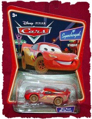 Disney Pixar Cars Dirt Track Lightning McQueen Supercharged