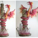 Dragon Statue With Dagger Knife Display