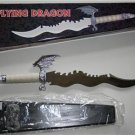 "22"" Flying Dragon Fantasy Knife with display stand"