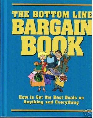 New! - The Bottom Line Bargain Book