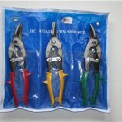 Professional HEAVY DUTY 3 Piece Aviation Tin Snip Set