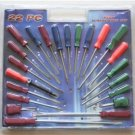 New/Sealed Package - Assorted 22 Piece Screwdriver Set