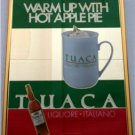 New! - Tuaca Liquore- Italiano Mirror/Pub Sign