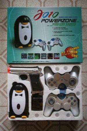 2010 Powerzone/Infrazone Wireless Game System with 111 Games!