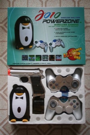 2010 Powerzone Wireless Video Game System with 111 Games!