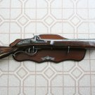 "New! - 28"" Replica Flintlock Blunderbuss Rifle With Plaque"