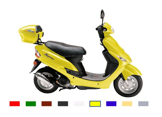 50cc Gas Engine Scooter Moped