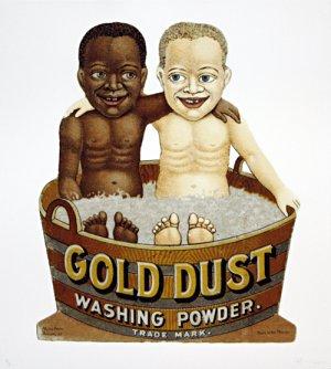 Gold Dust Tub, a benefit print by Hank Willis Thomas