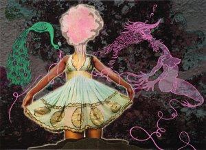 Dancer, a benefit print by Chitra Ganesh