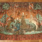 Royal French Tapestry DAME ALAI CORNE LEGOUT 32''X40'' women