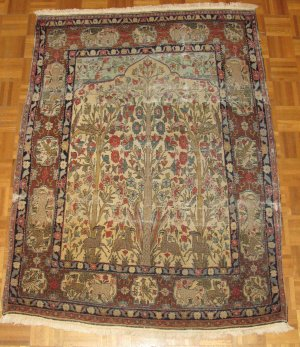 Rare Old Antique Carpet Rug Persian Amritsar Lahore, Must See