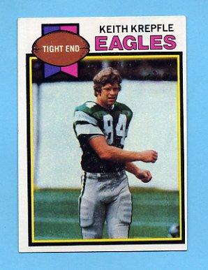 1979 Topps Football #448 Keith Krepfle - Philadelphia Eagles