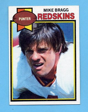 1979 Topps Football #396 Mike Bragg - Washington Redskins