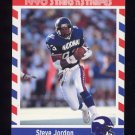 1990 Fleer Stars and Stripes Football #73 Steve Jordan - Minnesota Vikings