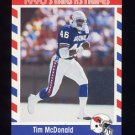 1990 Fleer Stars and Stripes Football #54 Tim McDonald - Phoenix Cardinals