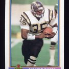 1991 Bowman Football #451 Marion Butts - San Diego Chargers