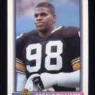 1991 Bowman Football #449 Gerald Williams - Pittsburgh Steelers