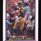 1991 Bowman Football #283 Flipper Anderson LL - Los Angeles Rams