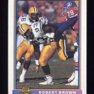 1991 Bowman Football #173 Robert Brown - Green Bay Packers