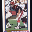 1991 Bowman Football #084 Boomer Esiason - Cincinnati Bengals