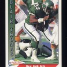 1991 Pacific Football #625 Blair Thomas - New York Jets
