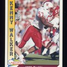 1991 Pacific Football #546 Kenny Walker RC