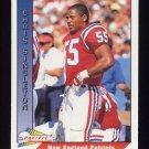 1991 Pacific Football #313 Chris Singleton - New England Patriots
