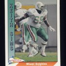 1991 Pacific Football #275 Keith Sims - Miami Dolphins
