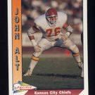 1991 Pacific Football #205 John Alt - Kansas City Chiefs