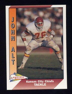 1991 Pacific Football #205 John Alt - Kansas City Chiefs