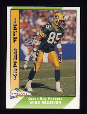 1991 Pacific Football #165 Jeff Query - Green Bay Packers