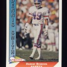 1991 Pacific Football #127 Dennis Smith - Denver Broncos