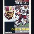 1991 Pinnacle Football #390 Charles Mann - Washington Redskins
