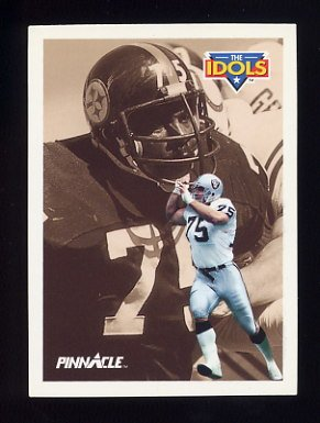 1991 Pinnacle Football #386 The Idols Howie Long / Joe Greene